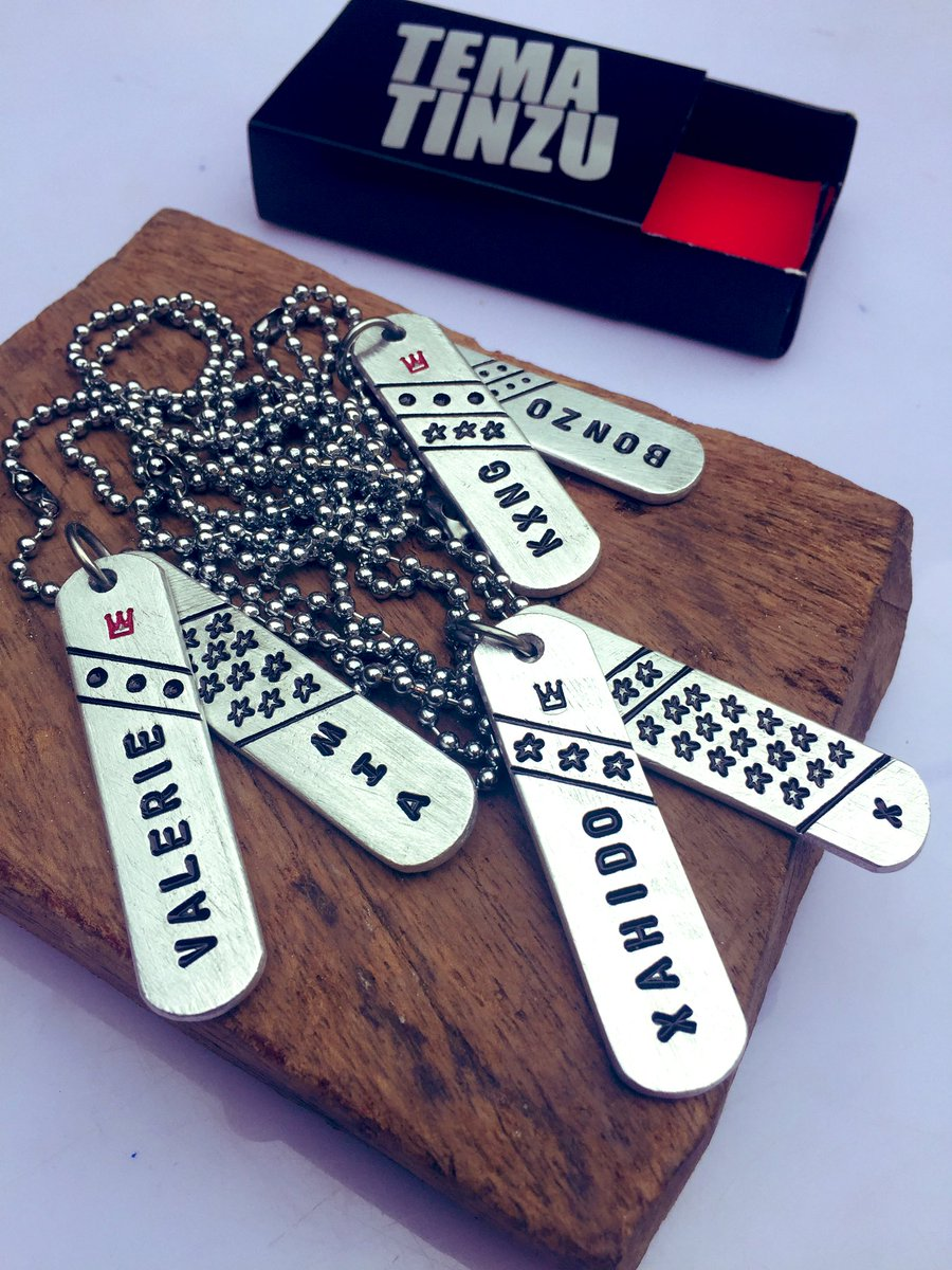 Customized only ... N5,000 per masterpiece #necklace pic.twitter.com/3YDXfiNrD0