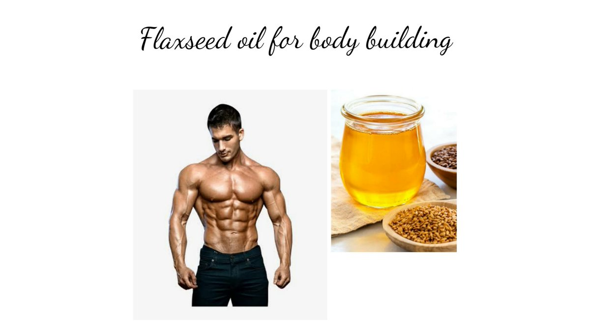 Are you working on Body Building? 💪🦵 Do you know how much Flaxseed Oil is needed for Bodybuilders? 🏋️🤸🏼♀️ No? 💁Then checkout this 👉 #bodybuilding #gym #workout #diet #bodytransformation #fitness #FitnessFriday