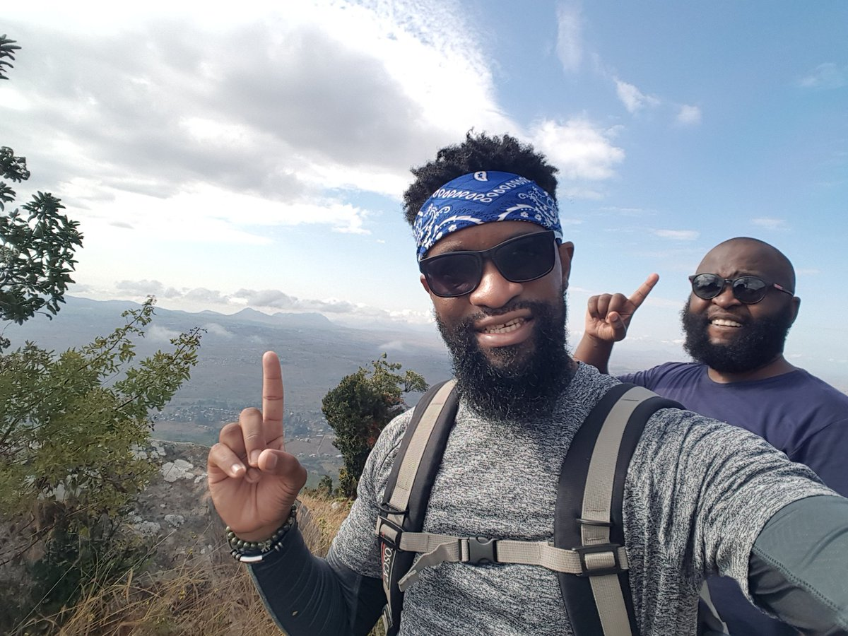 Completed the #Dedza hike #AAhikers #Fitness #Adventure the views were splendid.