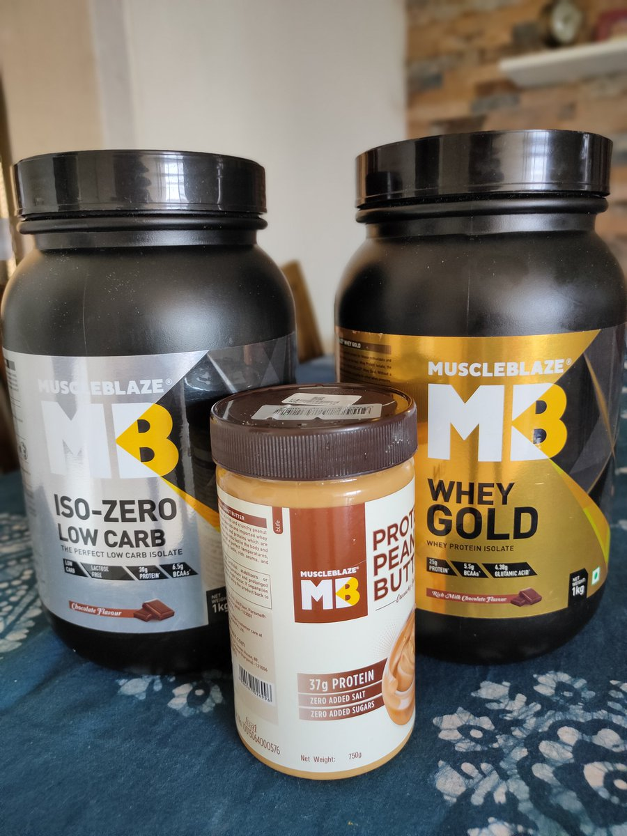 I am getting more & more loyal to @MuscleBlaze  From whey protein to peanut butter now.   Using your product since 6 months or more. Must say it's a good product with awesome competitive price tag 👌 #Fitness