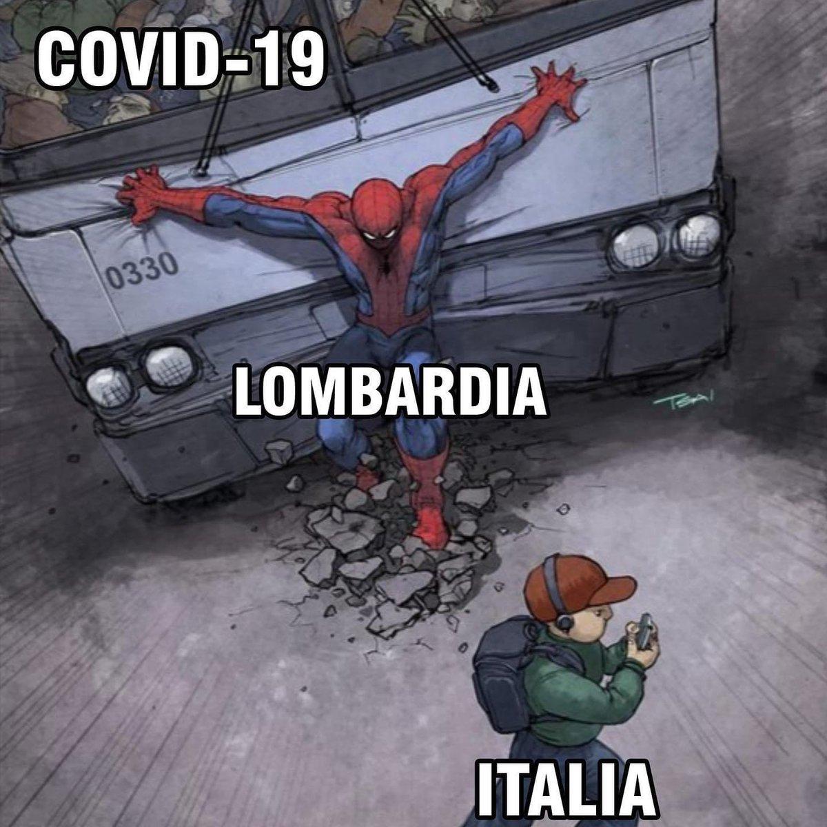 Più chiaro di così... #Covid #Lombardia #Italia