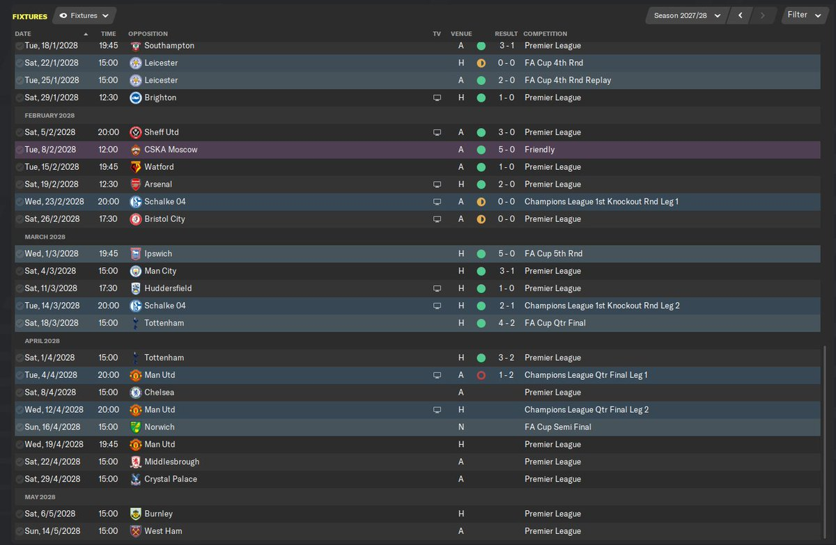 Getting towards the business end of the season. Fighting for 3 trophies...But how many will we come away with in our 1st season with Liverpool? #FM20<br>http://pic.twitter.com/iO2WOUkaiS
