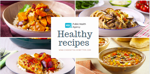 There are over 80 tasty, simple recipes on the Choose to Live Better website at pha.site/recipes They can be easily rustled up at home to provide variety across the week. #homecooking #healthyrecipes