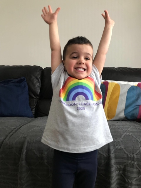 Put your hands up in the air because the weekend is here! Are you rocking your rainbows this weekend? Wed love to see! Send us a picture of you in your Supporting our Heroes gear at bwc.fundraising.hub@nhs.net. You can get yours here: orlo.uk/loYmb