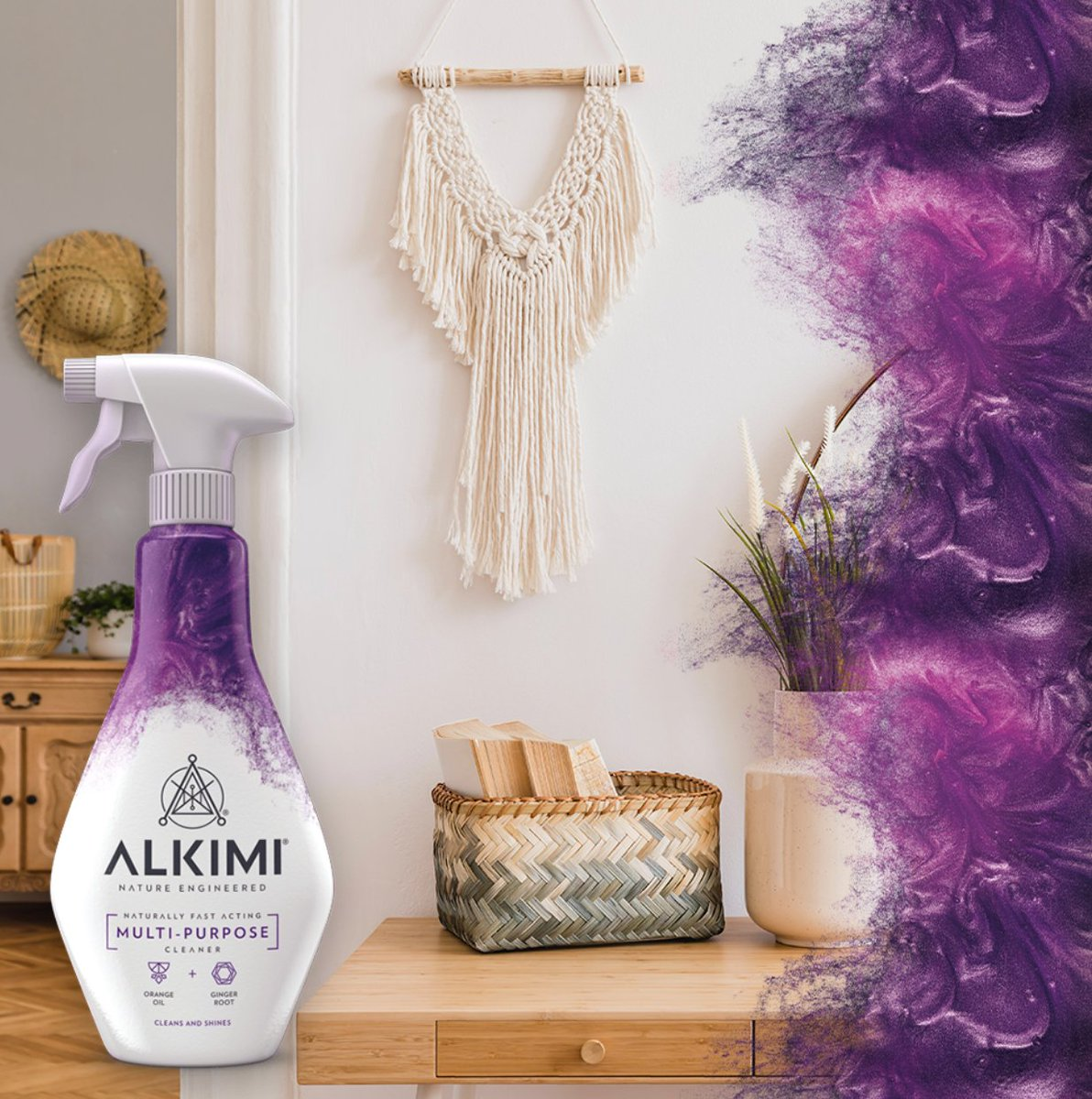 With naturally fast-acting ingredients, the ALKIMI Multi-Purpose Cleaner makes cleaning throughout your home effortless. #ForceOfNature https://t.co/I2PTUlugdz