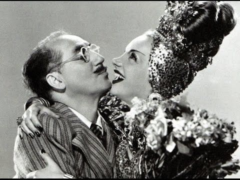 "#CarmenMiranda: ""Why you always chasing women?"" #Groucho: ""I'll tell you as soon as I catch one."" #Copacabana released 30th May 1947 pic.twitter.com/UIVvjjKVJp"