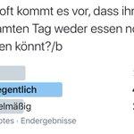 Image for the Tweet beginning: Ergebnis unserer Umfrage, das zwar