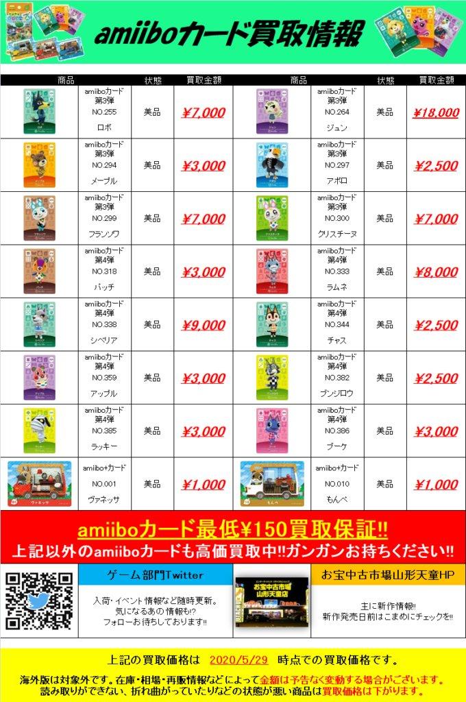 Amiibo あつ 値段 森 【あつ森】最新!amiiboカード人気住民ランキング・価格一覧【あつまれどうぶつの森】