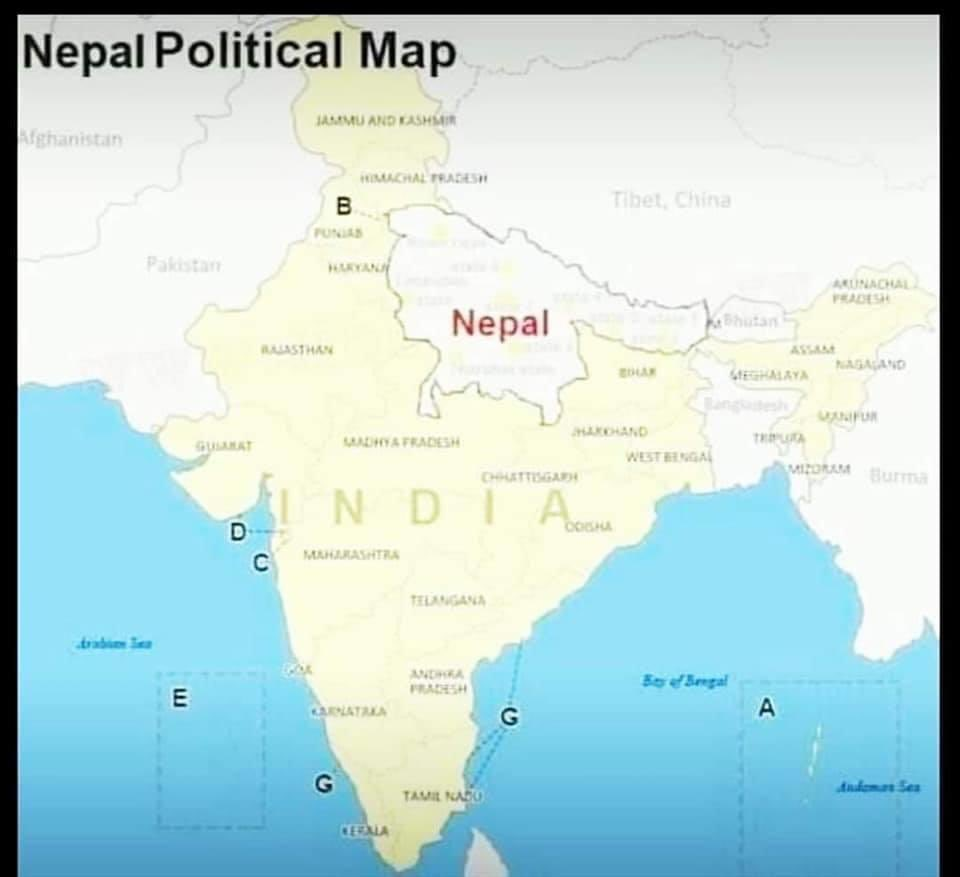 """Can you explain what """"Hindu"""" means? Meaning of this word """"Hindu""""? What is wrong is right and what is right is wrong? What is what Hindu mean? https://youtu.be/xKSYDjlmGSA what do you see-hear in this video? NEPAL is a Hindu country, why we have problems with NEPAL? This map? Hindu mappic.twitter.com/8ZsPmege0T"""