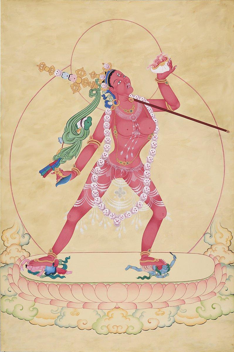 The Supreme Vajrayogini  Watch this : https://t.co/EgV49AWrmw  #Buddhism #Spirituality #tantra #art #painting #photo #picture #quote #WordsofWisdom #vajrayogini #youtuber https://t.co/8Nq2lVzOfB