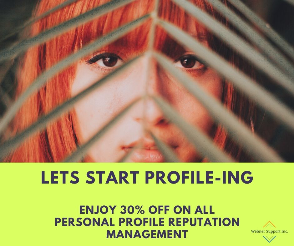 Think about it. Someone, somewhere out there could be looking for your profile to offer you a job, or even an exciting business opportunity. That's why you need to ensure that the search engine displays your profile!!!  Contact Us today For Inquiry!! https://wbreputation.com/individual-reputation-management/…pic.twitter.com/G71ylXYlpG