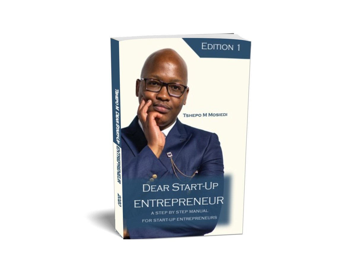 Edition 1 of the blueprint for start-up entrepreneurs is ready to be published  and this is the official book cover . I certainly hope it will positively impact lives of fellow Africans . Pre order 01 June 2020  .  #Entrepreneur  #dearstartupentrepreneurpic.twitter.com/uchJyugFjz