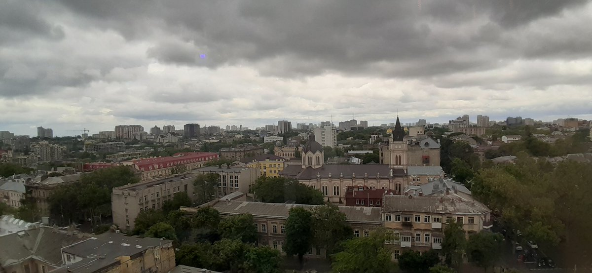 Good morning Twitter's kingdom  Morning in my native city #Odessa  Cold summer pic.twitter.com/rDwsZi8N9v