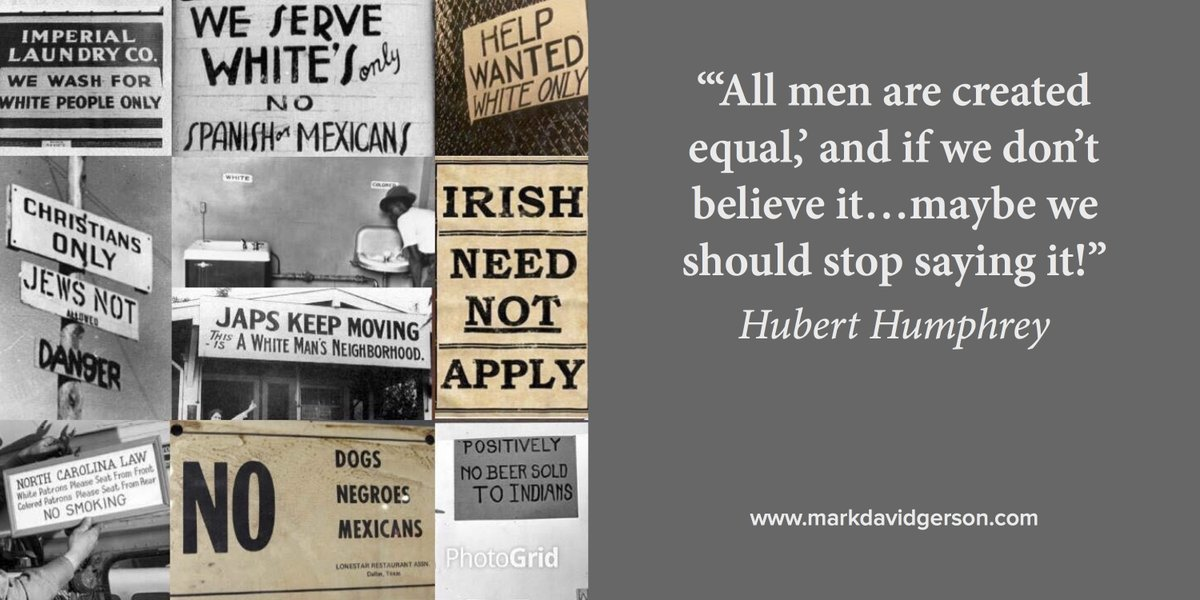 """""""All men are created equal; if we don't believe it maybe we should stop saying it!"""" -Hubert Humphrey #humanrights<br>http://pic.twitter.com/EvDthAgseu"""