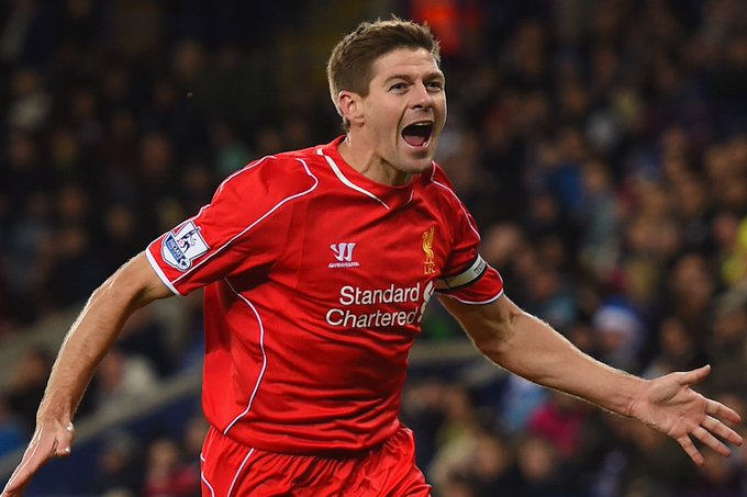 Happy birthday captain fantastic Steven Gerrard.