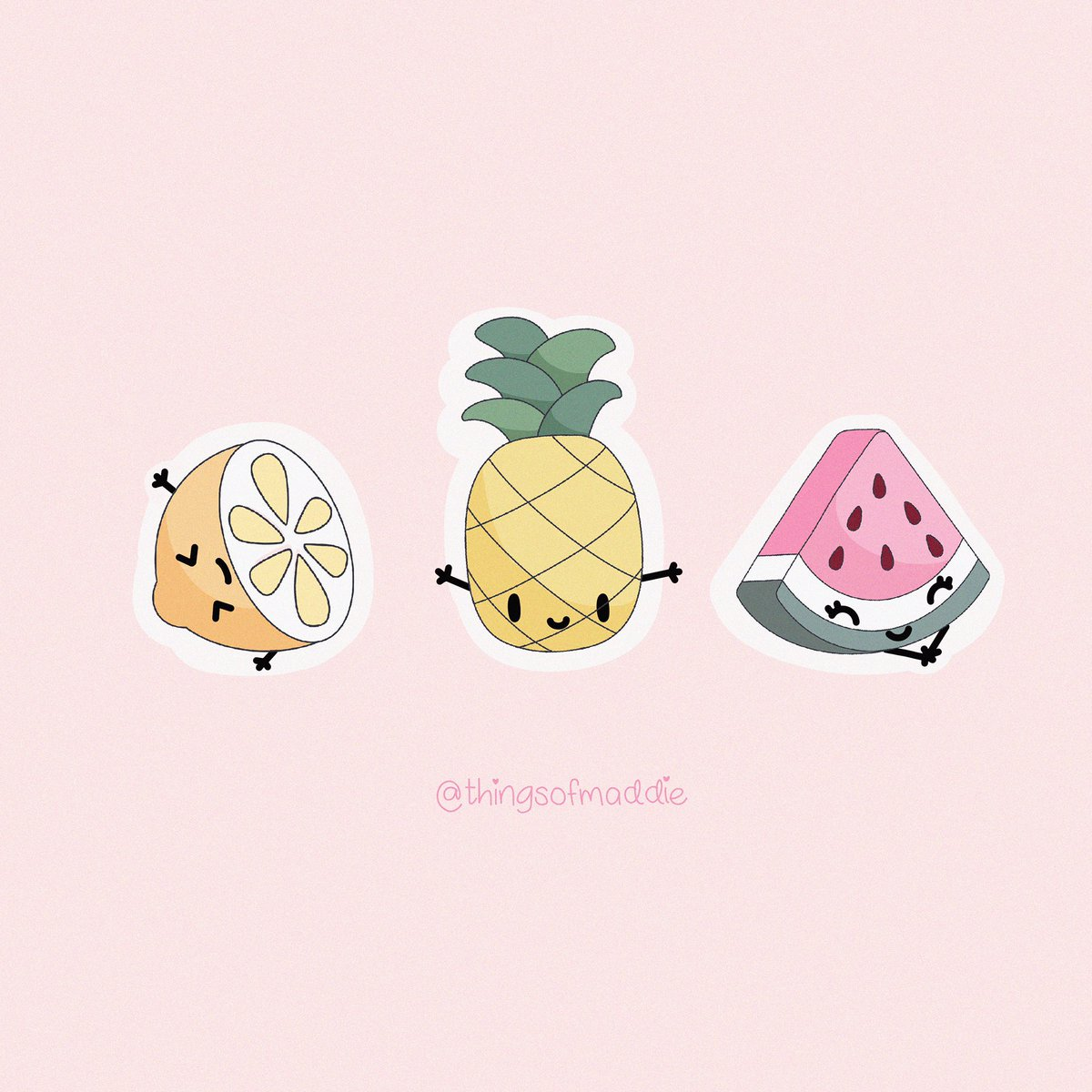 Some #kawaii #summerfruit for your #summervibes.  . We just wanna have #sun ! ☀️⛱
