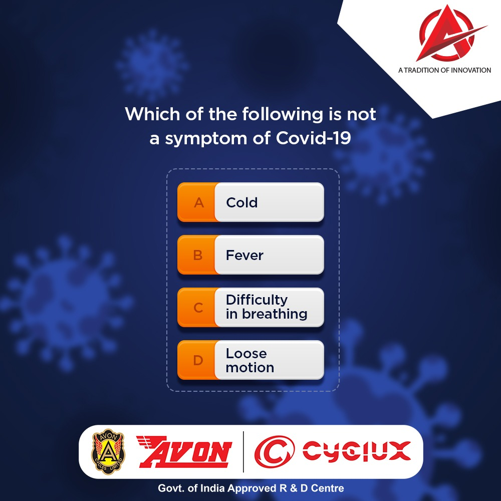In this contest, just answer the question above by selecting the right option and let us know in the comments. #Contestalert #contests #competition #giveaway #Stayhome #Staysafe #Avoncycles #cyclux #RideTheFuture #TraditionofInnovation #bicycle #cycle #new #cyclinglife #bikelifepic.twitter.com/hCjGwr3GN5