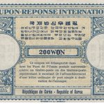 Image for the Tweet beginning: A Korean International Reply Coupon