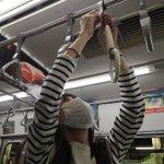「感染防止にマイつり革を」どこで手に入れたのか気になる電車内での写真