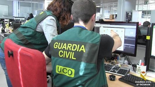 Foto cedida por Guardia Civil
