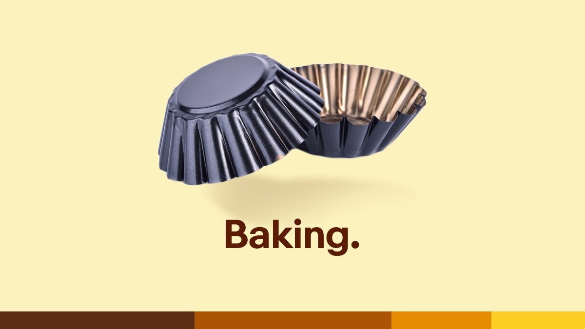 Baking. 🧁 We're a nation of Mary Berrys, it's official. People bought x3 more baking equipment (according to sales data) than before lockdown. Please, no more banana bread…