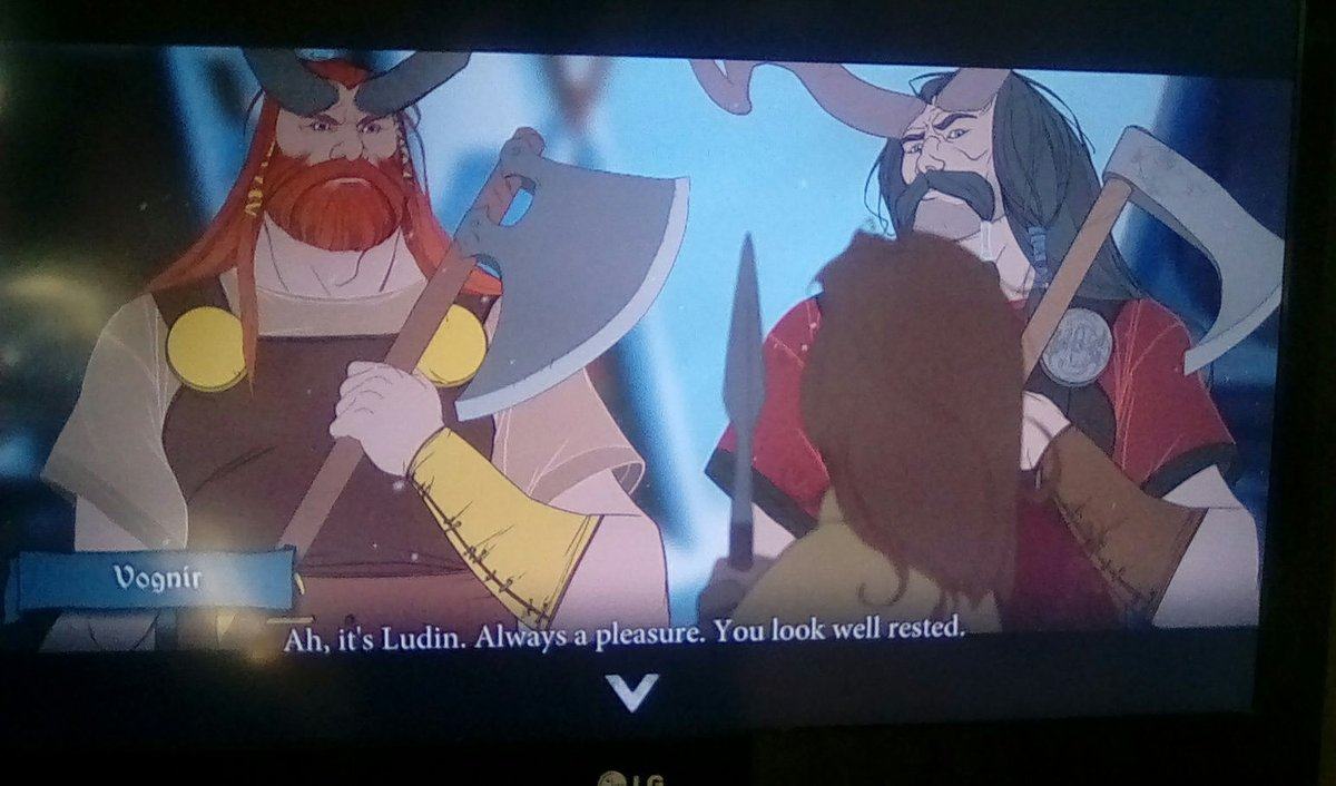 Having a go at the Banner Saga a present from my son #gaming #pcgaming #strategy pic.twitter.com/77m6hTXkZM