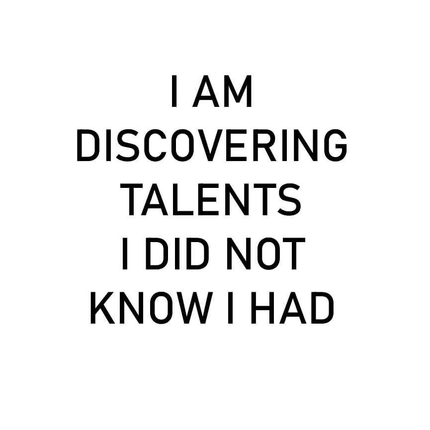 I am discovering talents I did not know I had . . . . . #vidyasury #affirmations #saturdayvibes #dailyaffirmations #positivevibes #mindfulness #selflove #selfcare #personaldevelopment #instadaily #collectingsmiles https://instagr.am/p/CAzx9InlCOT/pic.twitter.com/9k5e0kfdal