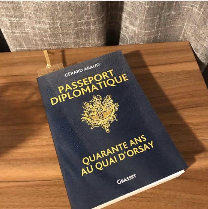 Que faire d'autre en un samedi après-midi ensoleillé que de lire les mémoires de l'incontournable diplomate français Gérard Araud ? Représentant permanent à l'OTAN et à l'ONU, ambassadeur de France en Israël et aux Etats-Unis, sa carrière force l'admiration : quelle inspiration ! pic.twitter.com/g7dDRt2osR