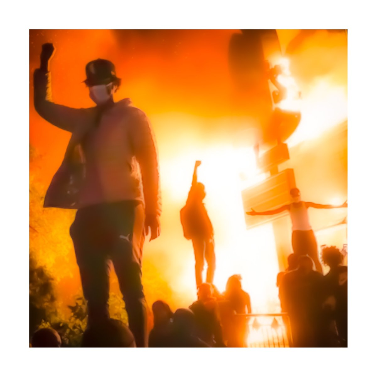 This would be a amazing album cover #riots2020 #MinneapolisRiot #GeorgeFloyd