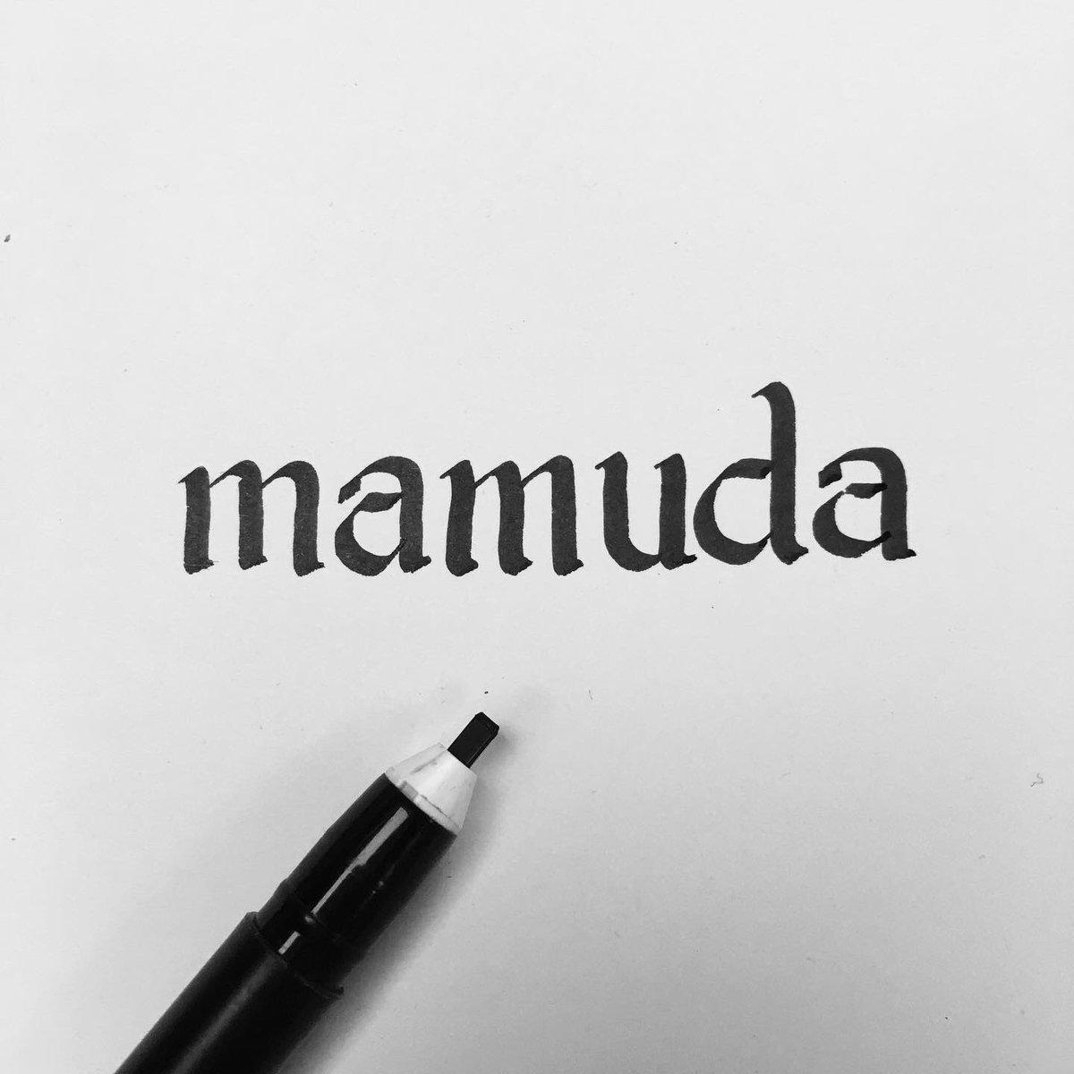 Daily Chamoru 039: Mamuda - dressed up, dolled up, change clothes // #chamoru #chamorro #cnmi #guam #rota #saipan #tinian #art #type #calligraphypic.twitter.com/55bLJwCQed