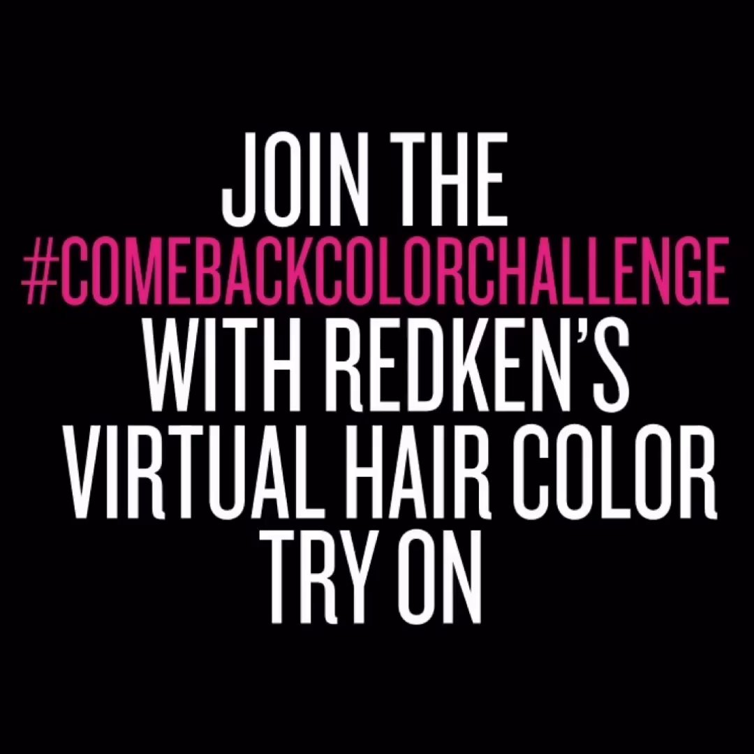 Tired of your #lockdown locks? Join the #comebackcolorchallenge with our virtual try on tool💁♀️ Get inspired to find a new hue 🎨 Share your looks using #COMEBACKCOLORCHALLENGE and tag your friends + @redken 🖤Try it here ➡️ https://t.co/TsRVuixmdT https://t.co/oD4IBKvnpw