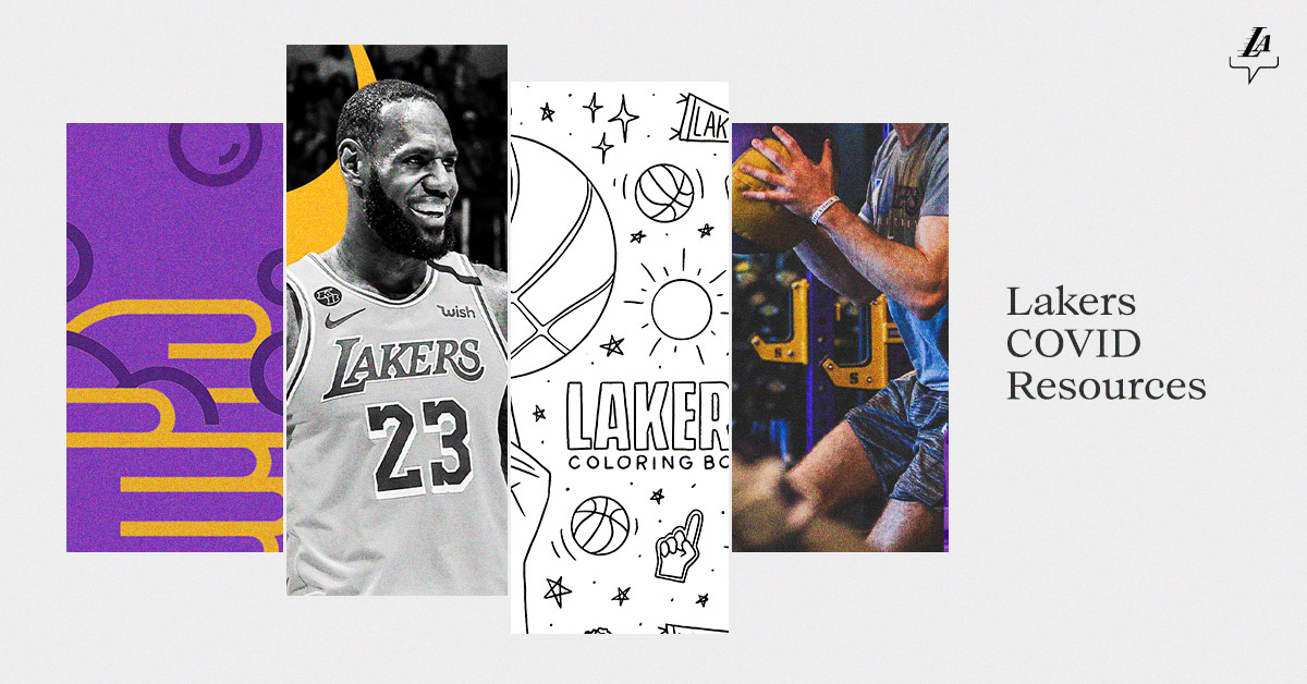 From health and wellness tips, to leaning how to decrease your COVID-19 risk and more.  #NBATogether   #LakeShow  🖥 Read our stay-at-home guide: https://t.co/fBys6kkmHJ https://t.co/sZOZFQ4Xps