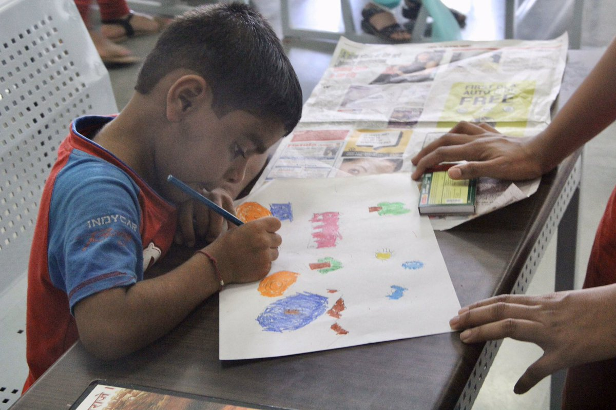 Our first #event was hosted back in 2015! It was a #drawing & #painting event that let the #students reproduce their imagination on paper. The success of this event encouraged us to have #holistic #development as one of our core #goals.  #PuneLearns #socialimpact #nonprofitpic.twitter.com/nqTbu3miDA