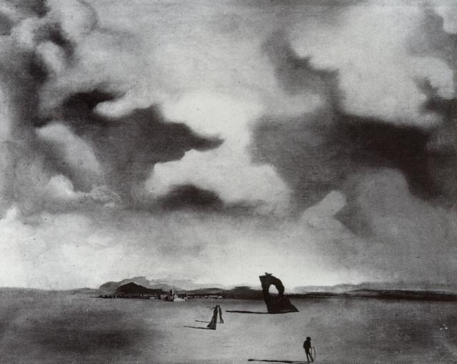 Night Spectre on the Beach, 1934 #dali #spanishartpic.twitter.com/sGv6RcieVR