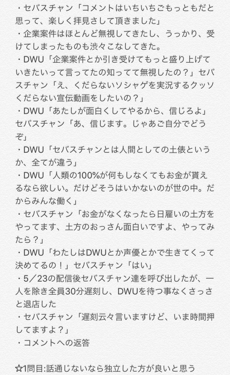 運営 Dwu