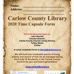 Image for the Tweet beginning: Great initiative from @CarlowLibraries ! >