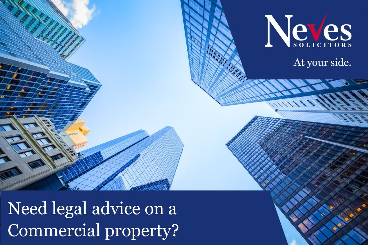 Has your business had to evolve and change direction as a result of COVID-19 ? Our #CommercialProperty lawyers can provide specialist advice for both landlords and tenants. Read our latest blog https://t.co/jp8MjWppTd call 0330 0945 500 or email info@nevesllp.co.uk https://t.co/EggeSlDjXP