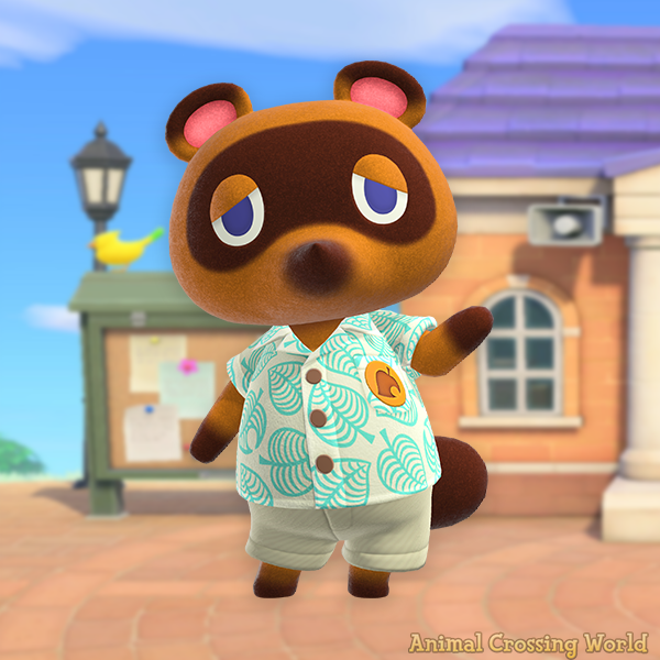 Happy Birthday to Tom Nook! 🎉 #ACNH
