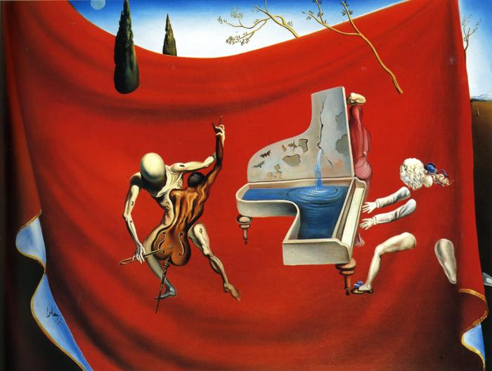 Music - The Red Orchestra, 1957 #dali #salvadordalipic.twitter.com/PqsDlhepn0