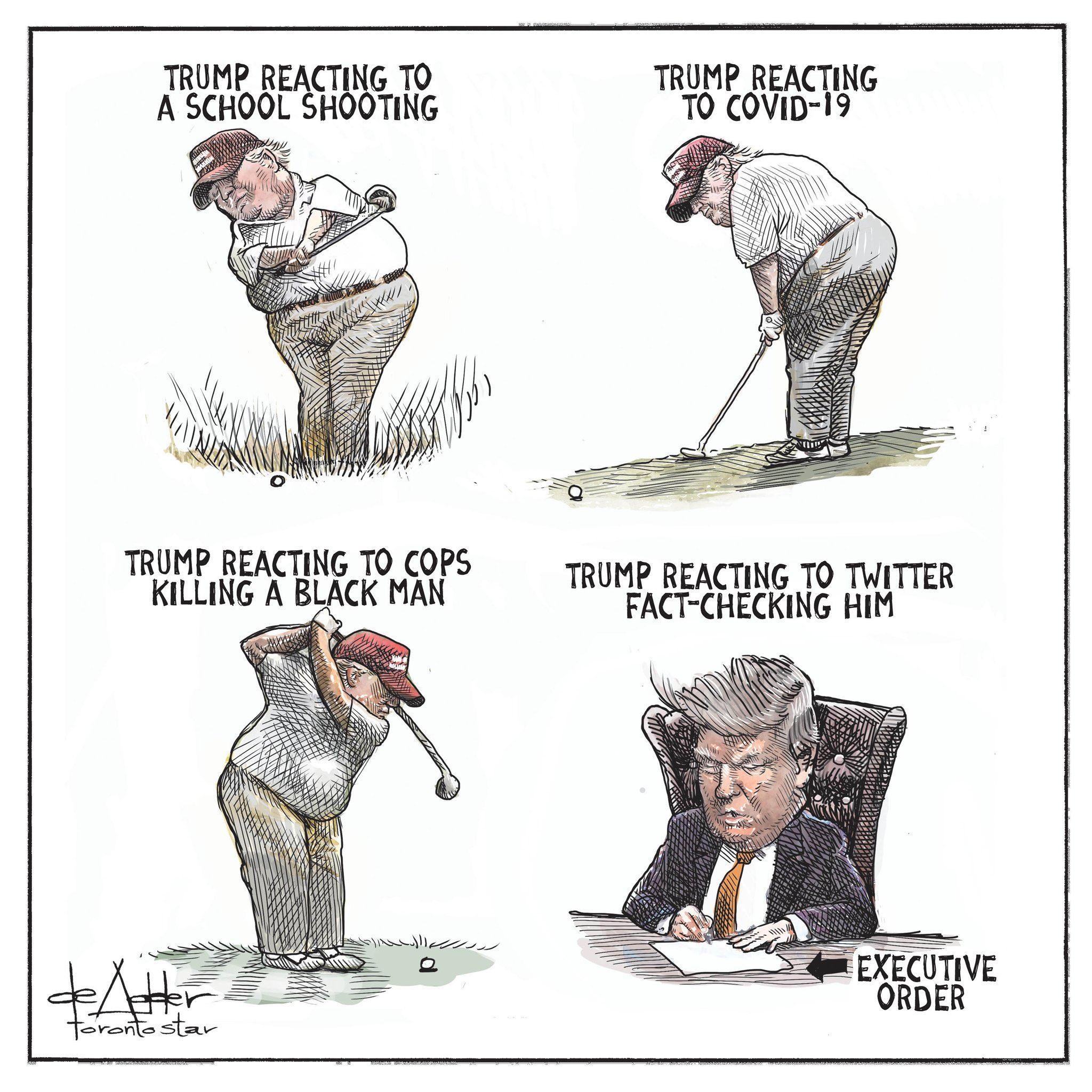 Trump et le Golf
