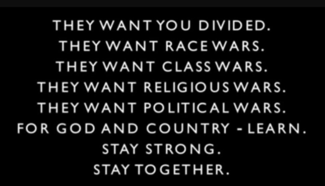 Where we go one, we go all. This is good vs evil. Our brothers and sisters everywhere, fight evil. Not each other.  #WWG1WGA <br>http://pic.twitter.com/SOZ9iReTw6