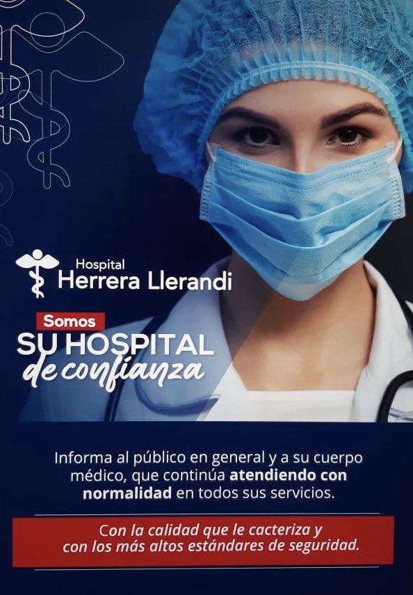 test Twitter Media - Hospital Herrera Llerandi informa que continúa atendiendo con normalidad en todos sus servicios https://t.co/FxqhK3hyKt