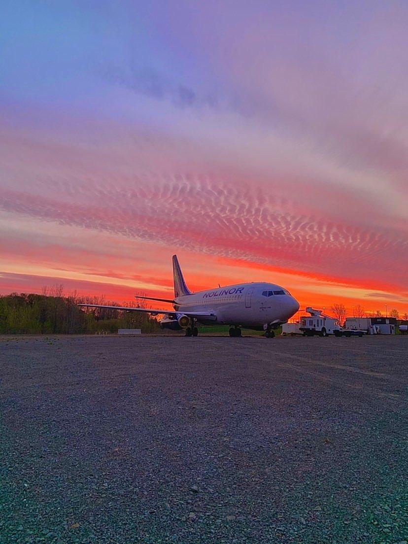 Wishing everyone a cool Saturday #nolinor #nolinoraviation #Boeing pic.twitter.com/z7sQNa6WyN