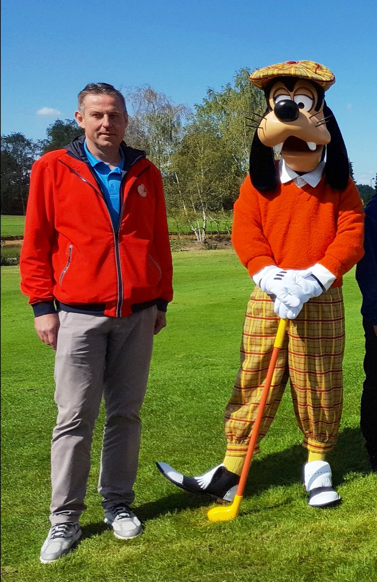Dlp Report On Twitter Golfer Goofy And Golf Disneyland Manager Pieter Botterman At A September 2018 Insidears Tour Of The Facilities
