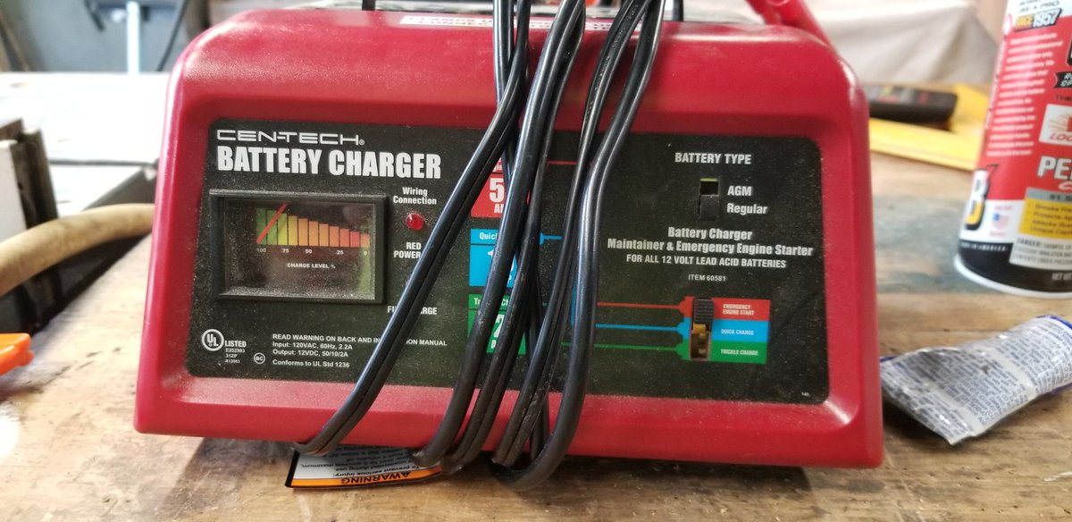 Ken Lake On Twitter Another Junk Harborfreight Battery Charger After 2 Of These Gone Bad Ive Learned My Lesson
