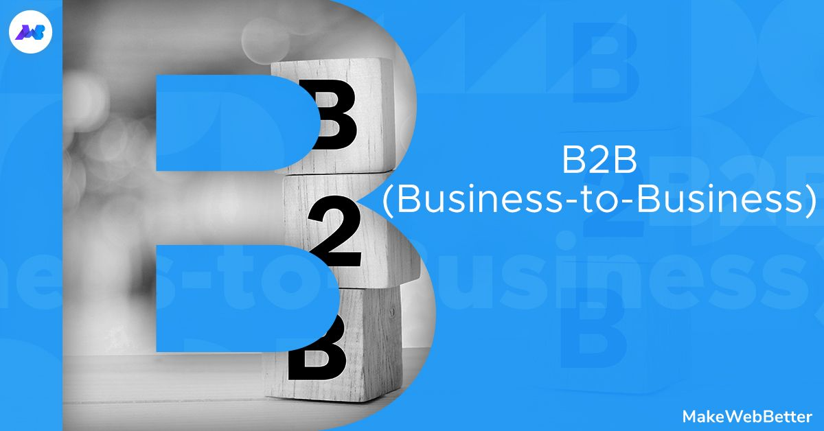 Coming to the next letter in our marketing glossary term, B and we have B2B.  It is defined as a situation where one business makes a commercial transaction with another business. Example, providing raw materials to another company that will produce some product.  #ecommerce pic.twitter.com/sUfPwc5LlL