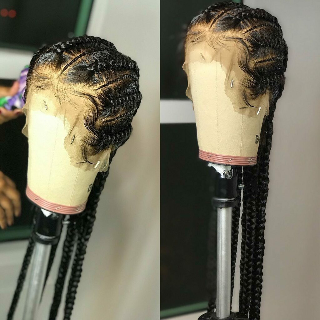 Braid wig  Wow  Beautiful #ourhairthough #healthyhair #hairgrowth #myhairmycrown #kinkyhairdontcare #letyouhairdown #hairtransformation #healthynaturalhair #crowningglory #protectivestyles #naturalhair #crownedwithcurls #unconditionedroots #boxbraids #blackhair #nat…pic.twitter.com/pEVJycZE1C