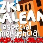 Image for the Tweet beginning: Eguzki kalean de emergencia.  Una