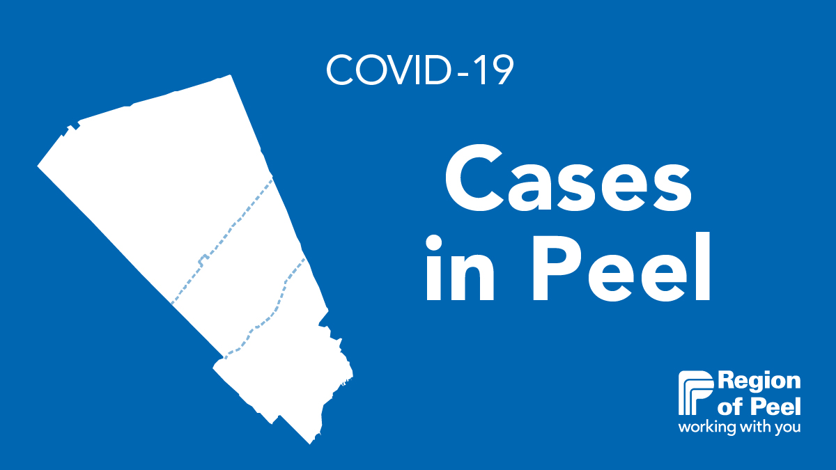 Region Of Peel On Twitter Peel Region S Daily Report And Interactive Map Provides Details On Covid 19 Cases Deaths And Municipal Trends Https T Co D2tkpqu04q Https T Co Cpjz4l0guy
