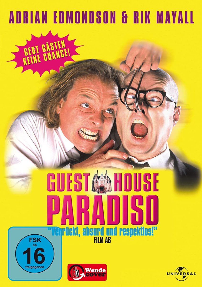 OMG they are putting Guest House Paradiso on Netflix next week!! pic.twitter.com/UMQgGSwDfP